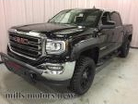 2017 Gmc Sierra 1500 Sle 4wd Crew Cab Level Kit Push Bar