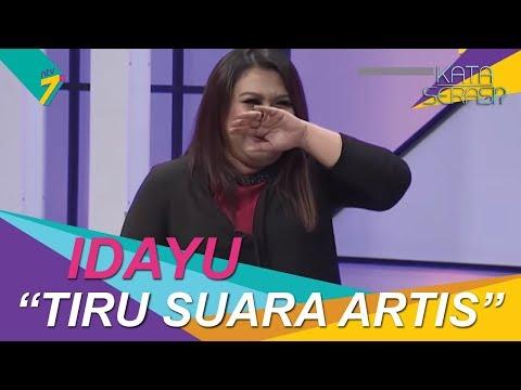 Bakat Terpendam | Idayu tiru suara artis Malaysia | Kata Serasi?