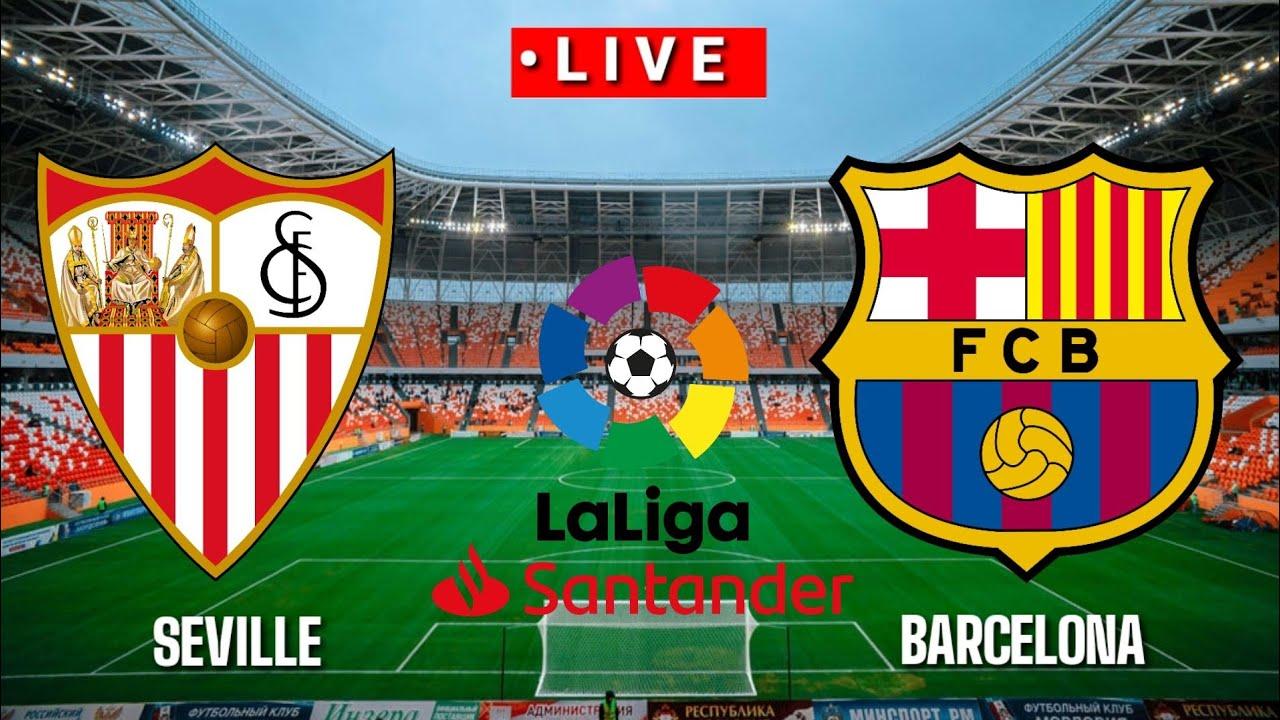 ???? [Trực Tiếp] Sevilla vs Barcelona La liga  2020/2021||Pes17