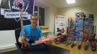 видео двухколесный электросамокат