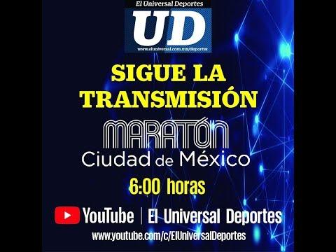 Transmisión especial del XXXVI MARATON de la CDMX