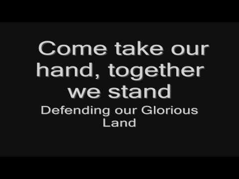 Sabaton -  Glorious Land (lyrics) HD