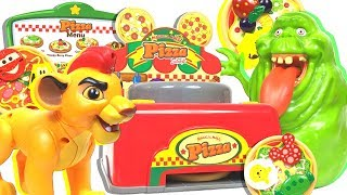 Disney Magical Mall Let's make toppings Let's make a topping Pizza shop【Lion Guard】