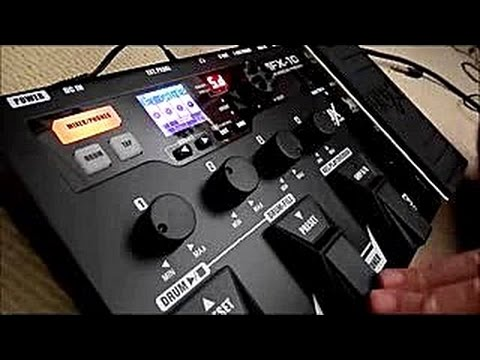 Nux MFX10 Multi Effects Pedal: Demo (extensive), Review, Tutorial