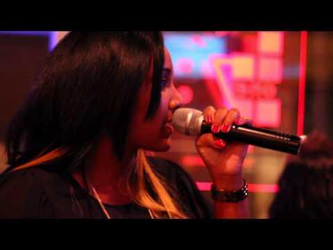 Tanya Carter - karaoke night out  - New York City