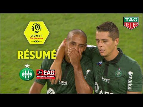 AS Saint-Etienne - EA Guingamp ( 2-1 ) - Résumé - (ASSE - EAG) / 2018-19