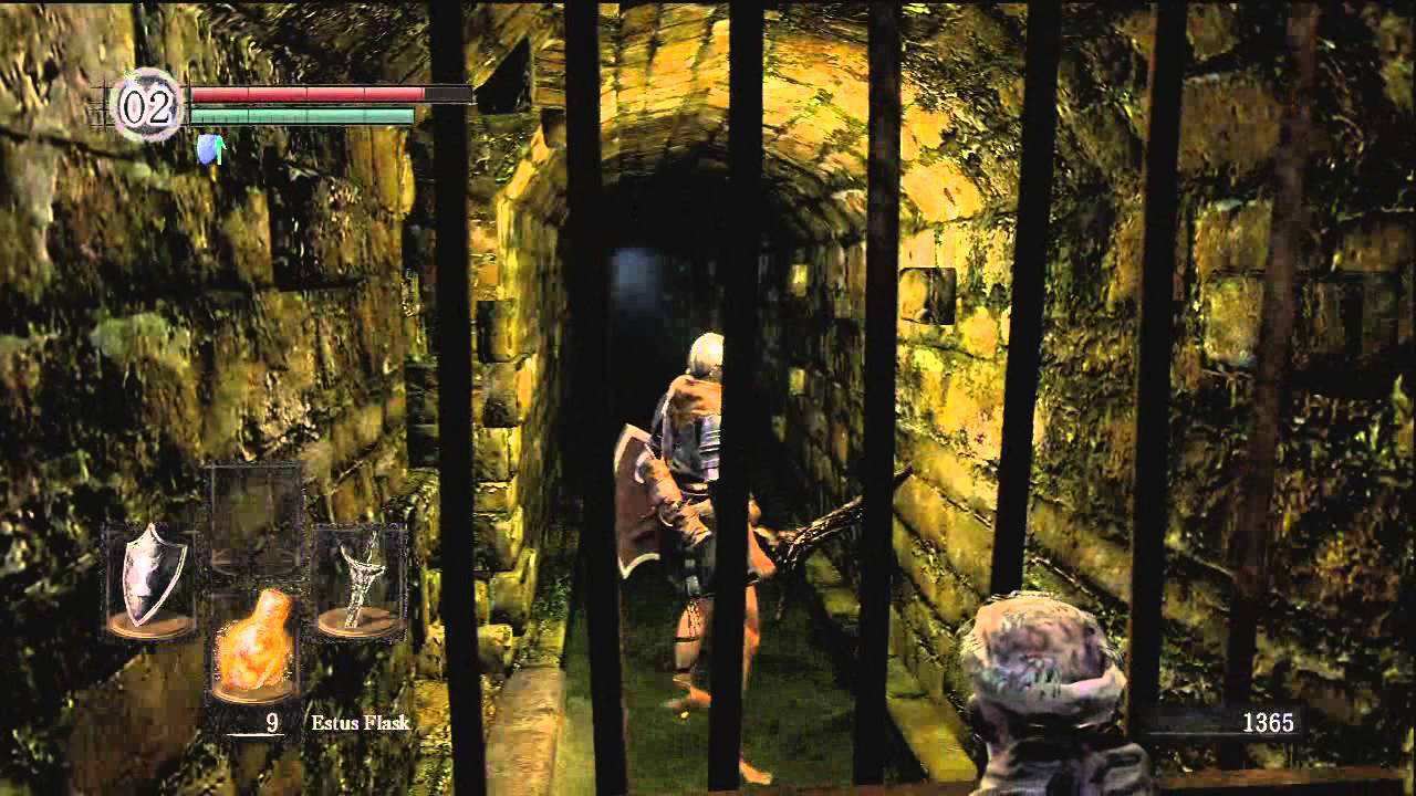 Dark Souls Complete Walkthrough Part 12- Opening The Shortcut And ...