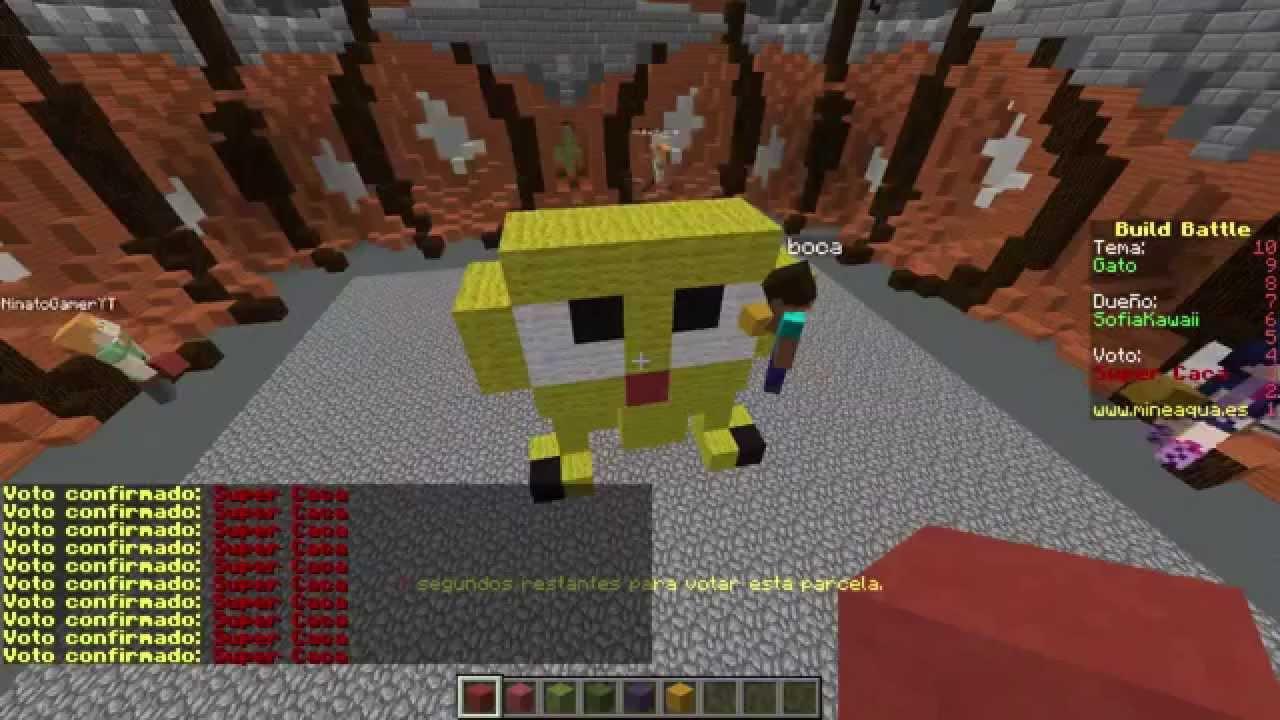 на какой версии майнкрафт можно игра на build battle #3