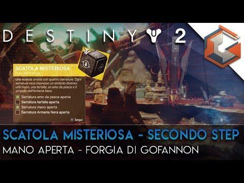 Destiny 2 | Quest Esotica Segreta | Scatola Misteriosa Seconda Parte | Mano Aperta Forgia Gofannon thumbnail