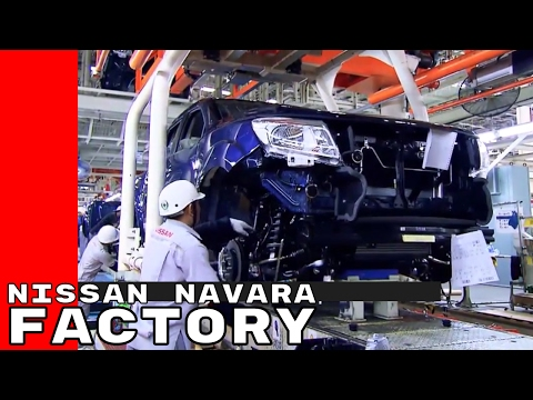 Nissan Navara Factory at the Bangkok, Thailand