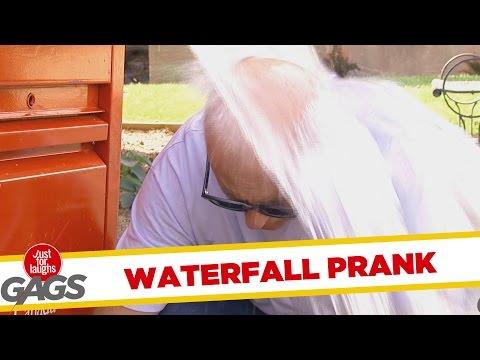Waterfall Mailbox