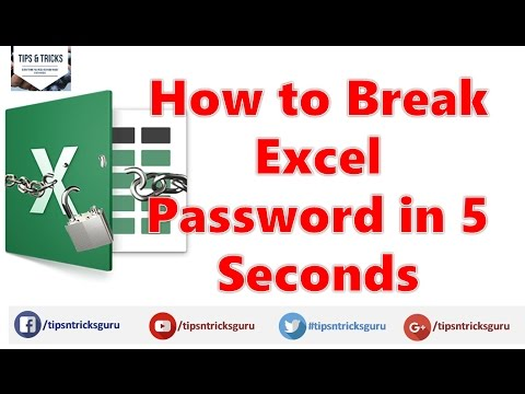 crack excel password online