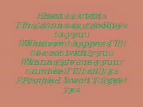 Camp Rock - Hasta La Vista- lyrics