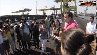 Саакашвили прогнал директора порта под Одессой