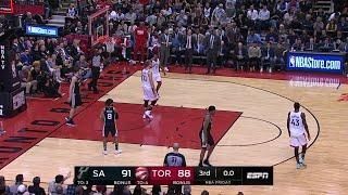 3rd Quarter, One Box Video: Toronto Raptors vs. San Antonio Spurs