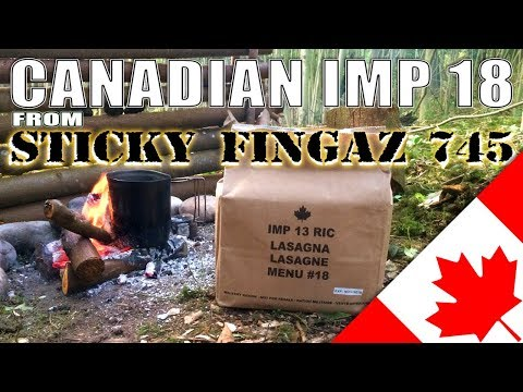 MRE Review : CANADIAN IMP Unboxing and Review