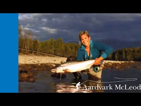 April Vokey Fishing For Skeena Steelhead