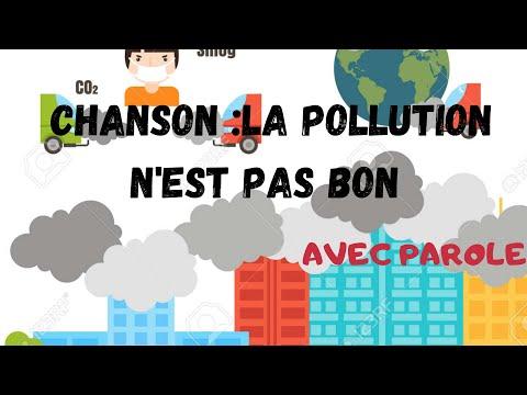chanson la pollution ce n'est pas bon