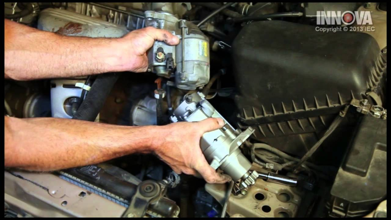 how to change starter assembly 1997 toyota camry youtube 1998 Explorer Starter Diagram