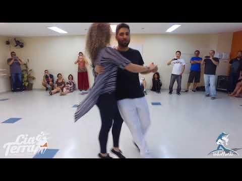 Baila Mundo - Daniel Marinho e Rafaela Ribeiro (Workshop de Forró Roots na Cia Terra)