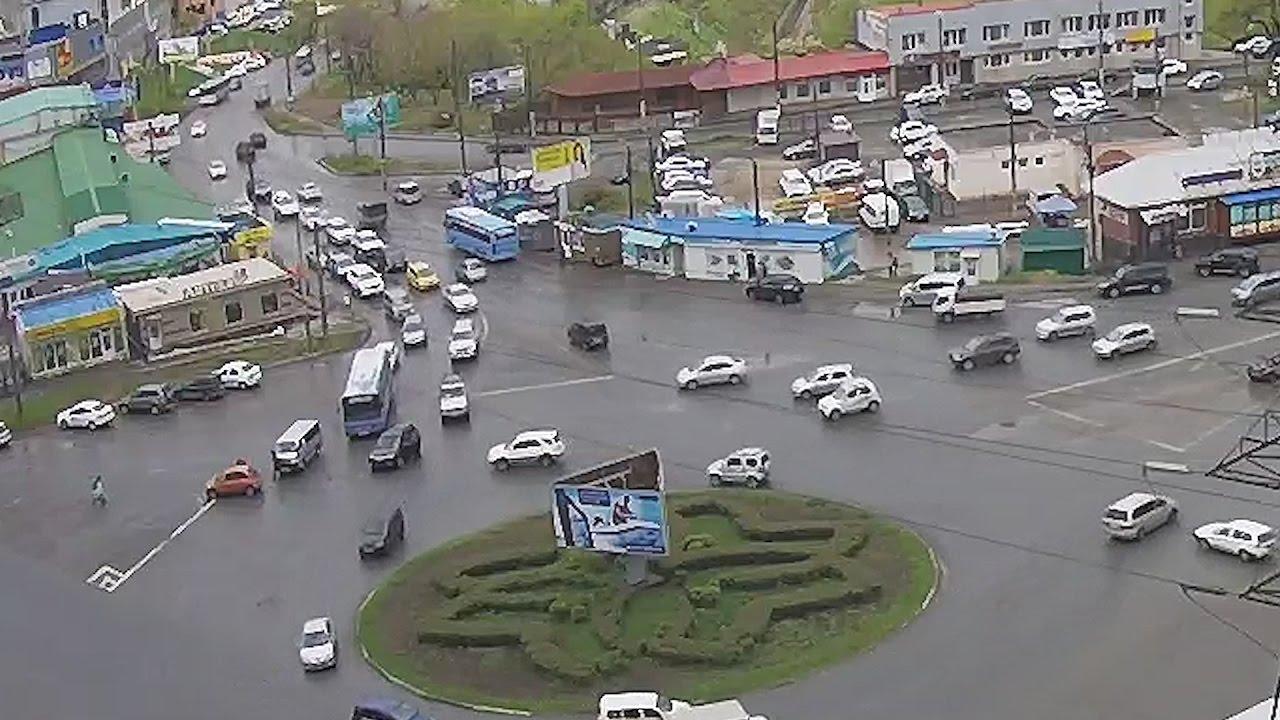 ДТП Владивосток 15 мая кольцо 3я Рабочая