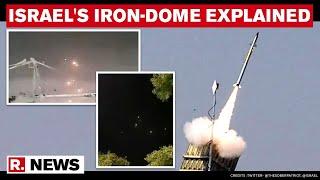 Air Marshal Anil Chopra \u0026 Capt Alok Bansal Explain Israel's Iron-Dome Air Defence System