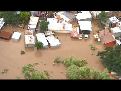 Dozens die in heavy flooding in South Africa