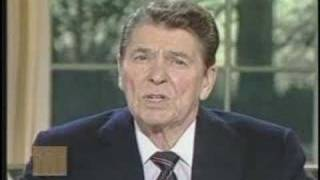 "Ronald Reagans address to the nation zur ""Challenger"" Katastrophe"