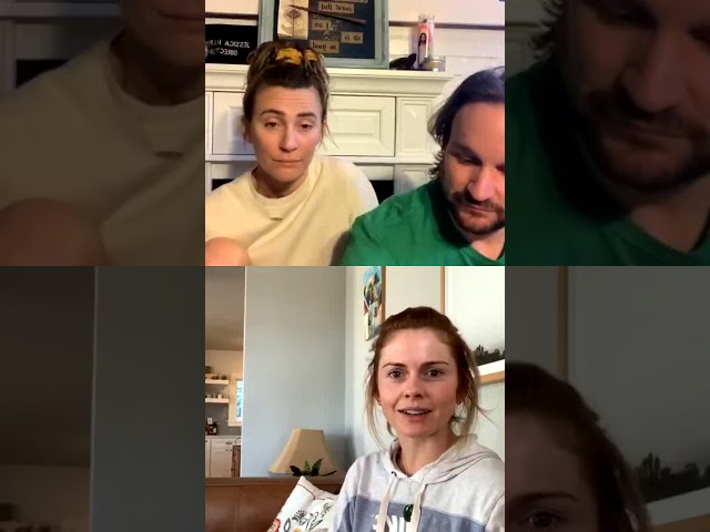 Fireside Chats - Jessica Harmon, Lenny Jacobson and Rose McIver (March 26, 2020) PART 4
