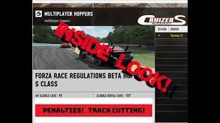 Inside the Forza Race Regulations Beta Hopper
