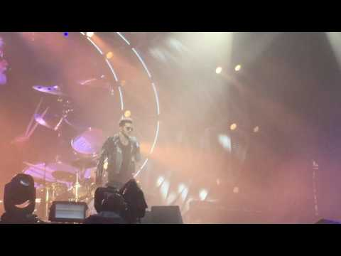 Queen & Adam Lambert LIVE Isle of Wight Festival 2016 (Hammer To Fall) *FRONT ROW*