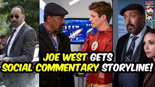 ⚡️Joe West Gets Social Commentary Storyline⚡️The Flash Season 7!