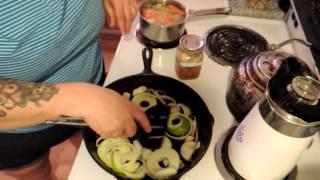 Apple & Onion Pork Skillet!