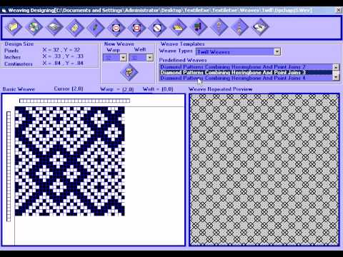 Weaving Design Software