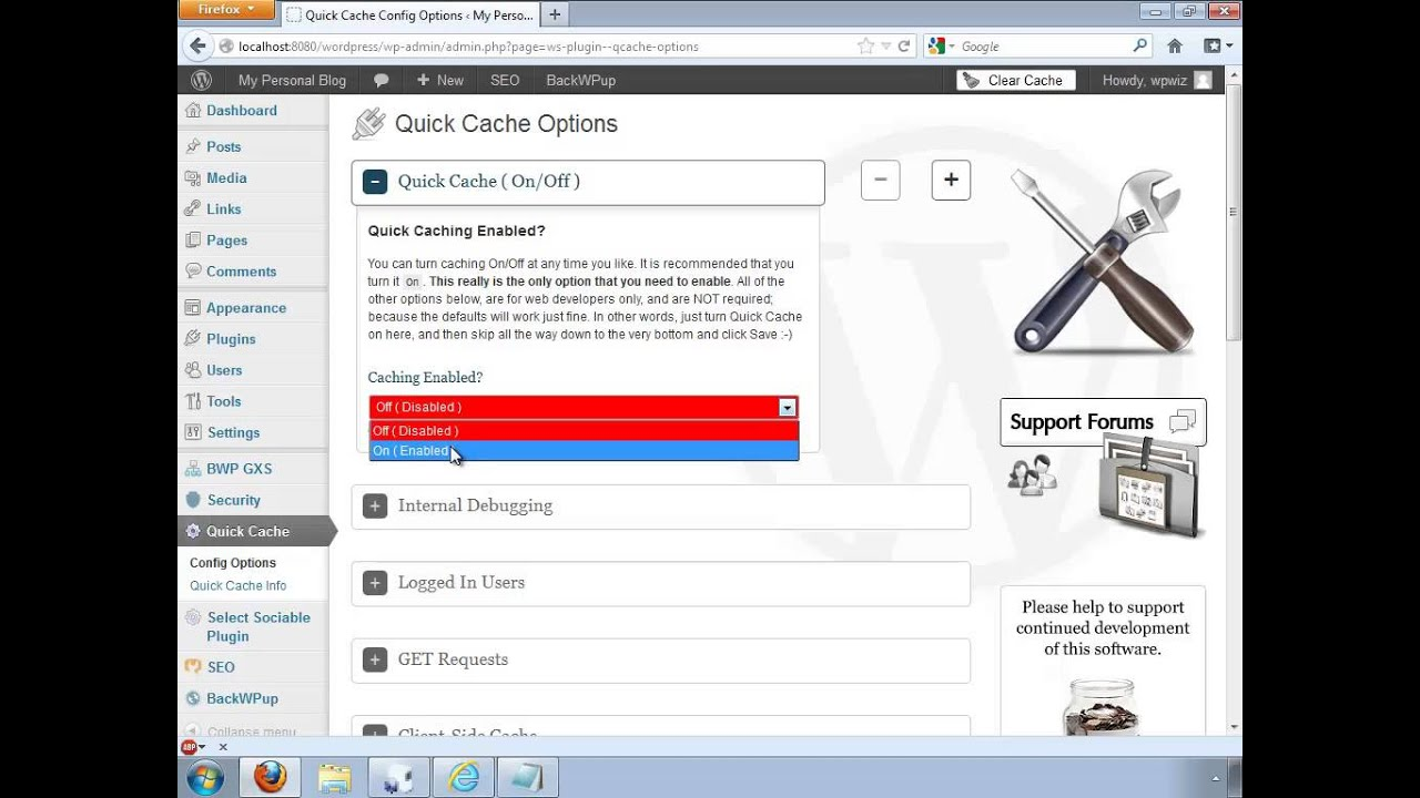HowTo: Caching your WordPress web site to increase speed ...