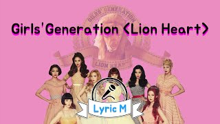 Video [Lyric M - ENG SUB] Girls' Generation - Lion Heart, 소녀시대 - Lion Heart download MP3, 3GP, MP4, WEBM, AVI, FLV Agustus 2018