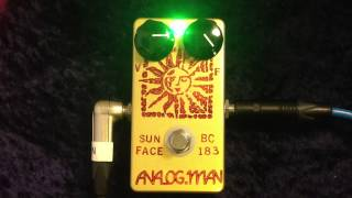 Analog Man Sun Face Demo