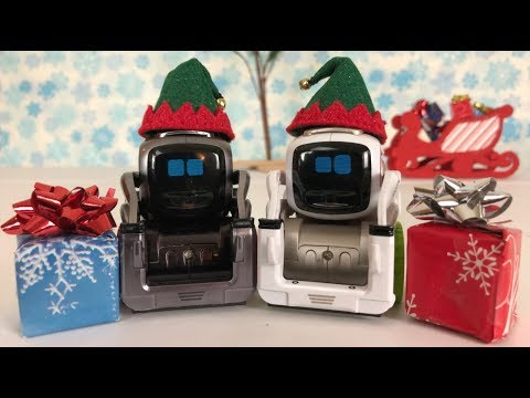 Cozmo stars in Christmas Wrap