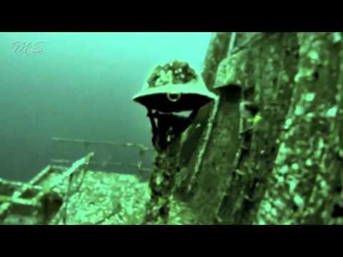 Unusual Sea Sights - USS Oriskany Sunken Warship