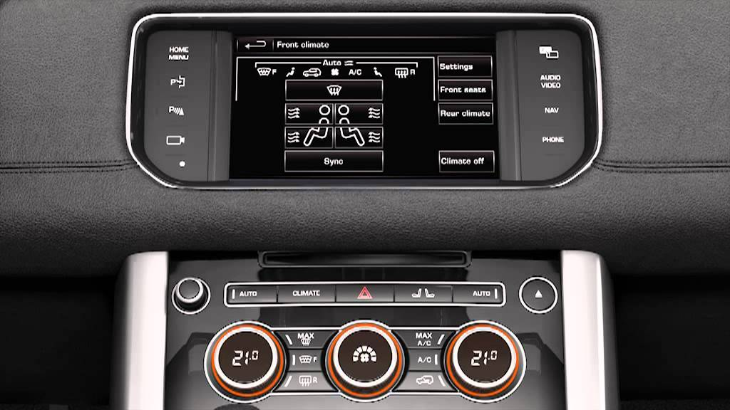 How To Use The Automatic Climate Controls Range Rover