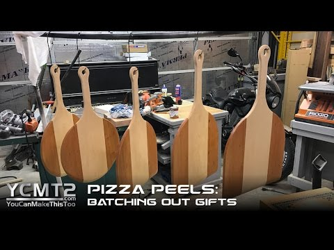 Pizza Peels: Batching for gifts