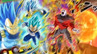 PURE SAIYAN LEAD SSBE VEGETA  JIREN DOKKAN AWAKEN  SUPER ATTACKS Dragon Ball Z Dokkan Battle
