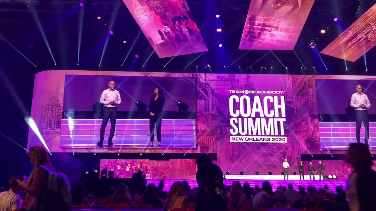 New Beachbody Workouts 2020 Beachbody Coach Summit 2020 New Orleans!   YouTube