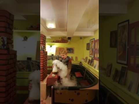 Smoky coffee @cafe Аддис, Saint-Petersburg