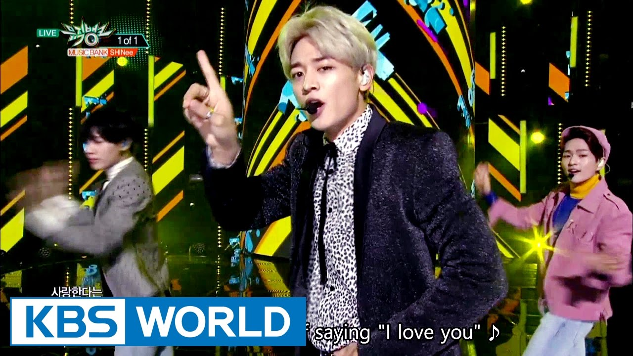 Shinee 1 Of 1 Music Bank Hot Stage 2016 10 21 Youtube