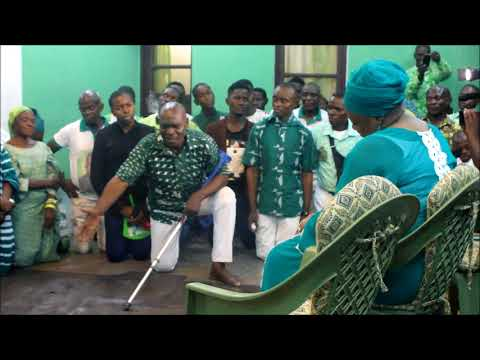 #Kinshasa: Animation COREKI avec Maman Solange Kisolokele