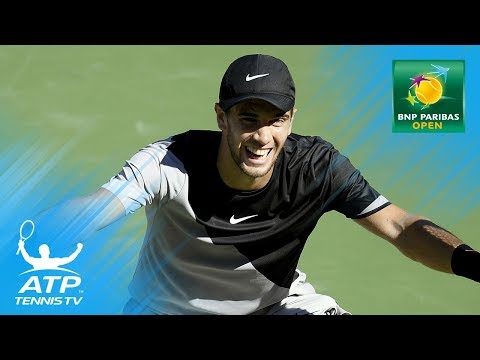 Coric reaches first semi; Federer makes it 16 in a row | Indian Wells Day 8 Highlights