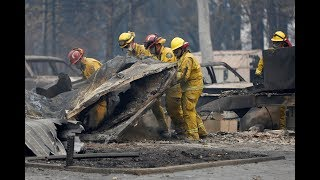 Fire recovery continues across California, as new fire blazes east of LA