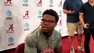 alabama running back damien harris bye week