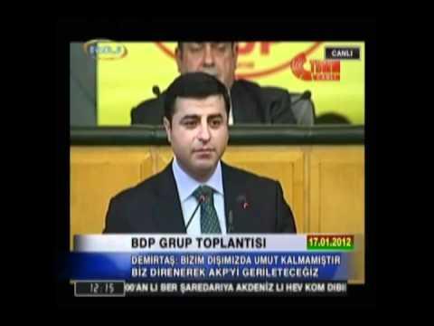 BDP Leader about Kurdish Student in Turkey